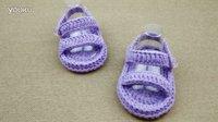 【双然宝贝编织屋】手工编织教学---宝宝毛线凉鞋
