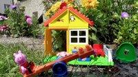 粉红猪小妹 凉亭 - Peppa Pig Garden House - Play Big Bloxx