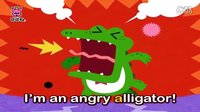 A-Alligator(鳄鱼)-ABC英文字母_碰碰狐!中文儿歌舞蹈