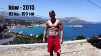 丹麦小男孩Christian H.Nielsen - 两年街头健身成果!