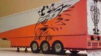 田宫雪柜改装(精品)车厢  遥控 仿真 货车 卡车 truck 原创 TAMIYA 模型 RC 斯堪尼亚