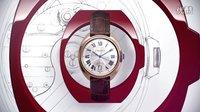 Clé de Cartier  男士腕表- 18K玫瑰金皮表带
