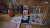 【kikki.k贴纸本和便签本内部介绍】kikki.k notepad flip through   peachbaby桃子同学
