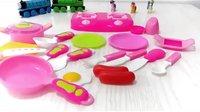 迪士尼 儿童厨房玩具 学习烹饪 水果切切看 过家家 亲子小游戏