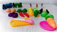 迪士尼 水果蔬菜切切看 儿童早教益智玩具 亲子小游戏