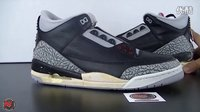 1994 Air Jordan 3 Retro Black Cement 元年黑水泥 实物赏析