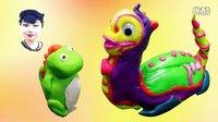 恐龙乐乐-太空探索 夜光彩泥 亲子故事 外星人 玩具妈妈 #6N