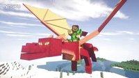 【小本】我的世界★侏罗纪公园恐龙世界第二季EP13〓小火龙骑士〓MC=minecraft