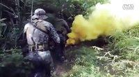 [7koope]美国海军陆战队教菲佣陆战队玩M101榴弹炮