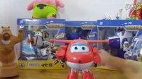 亲子游戏 超级飞侠玩具大全 变形机器人乐迪婴幼儿童益智玩具 海绵宝宝 托马斯和他的朋