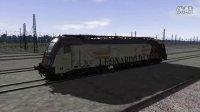 模拟火车ES64U2/4金牛座电力机车