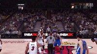 NBA2K16 巅峰对抗(名人堂) 热火(三巨头)VS勇士(水花兄弟)