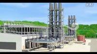 巨浪视觉-供电机组电厂厂房漫游动画-配电工程动画-电网宣传动画