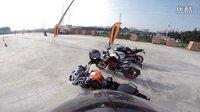 KTMR2R成都试骑KTM DUKE 200