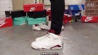 Air Jordan 6 Retro 'Maroon' AJ6 魔力红 上脚欣赏