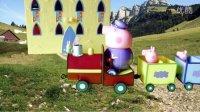 粉红猪小妹 PEPPA PIG 爷爷的火车套装佩佩猪玩具