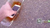 化学物质倒入iPhone6S中后,黄烟迷雾