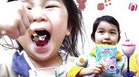 变身泡泡果冻!好吃的停不住【中国爸爸】日本食玩