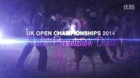 2014 UK Open Pro STD Intros and final 英国公开赛摩登舞决赛