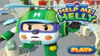 变形警车珀利 – 海利直升机 – 救援小游戏