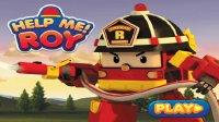 变形警车珀利 – 罗伊消防车 – 救援小游戏