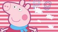 粉红猪小妹中文版小猪佩奇动画片peppapig★月鼓解说★粉红猪小妹小游戏之粉红小猪大冒险