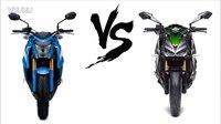 【K频】Suzuki vs Kawasaki 公升谁更强?对比2016款GSX-S1000 vs Z1000