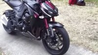 【K频】Kawasaki 2016 Z1000 细节评测,离合真是超顺!