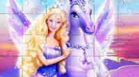 芭比公主动画片大全中文版芭比之梦想豪宅芭比公主之钻石城堡之美人鱼芭比之真假公主芭比娃娃的舞会芭比娃娃与飞马魔法冰雪奇缘 月鼓解说 芭比小游戏之芭比公主的拼图2