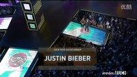Justin Bieber 贾斯汀比伯 wins Favorite Artist at the 2014  MMVA