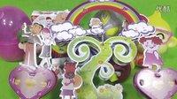 喜羊羊与灰太狼和小伙伴小黄人玩3D益智拼图手工制作大耳朵图图 亲子互动游戏