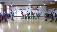 湖北监利秦园舞蹈 原创东北秧歌伴舞《我的家在东北》