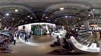 全景视频 莫扎特车展 车模