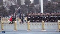八一纪念-武警-天安门降旗仪式