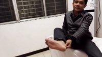胡升猛医师运用浮针治疗李尹叔的足跟痛立竿见影视频