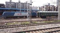 [拍火车][列尾HXD1C]SS8+25B上海-常德[K4551]广铁株段 上行
