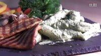 【餐点食验】罗勒奶油意粉&烟熏豆腐排 Creamy PestoN'pasta & Smoked tofu steak【一月食验室】