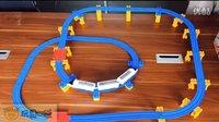 小火车轨道 新干线 多美轨道套装 玩具口袋 独家 原创视频