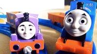 托马斯小火车 哈罗德 多多岛搜救套装 托马斯和他的朋友们 新玩具 口袋哥哥讲故事
