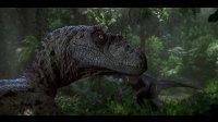 手绘侏罗纪公园迅猛龙