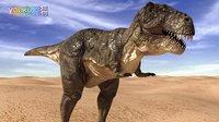 游戏猫MAO 恐龙总动员 组装机械霸王龙 恐龙世界恐龙历险记恐龙战队侏罗纪世界  亲子