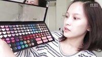 Mii黄小米 挑战一盒完妆One Palette Makeup Challenge!