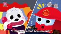 Fire Truck (消防车) | 英语汽车儿歌 | 碰碰狐!汽车儿歌