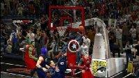 【亚当熊 超级英雄征战NBA第三期】复仇者联盟VS正义联盟超人(绿巨人钢铁侠蜘蛛侠美国队长雷神金刚狼2k16)2k17
