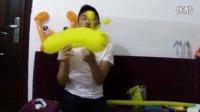 【乐乐气球】魔术气球教程 免费魔术气球教学 魔法气球《花千骨》之糖宝毛毛虫视频教学