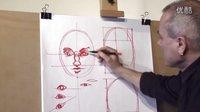 人物画像,轮廓构图,绘画教程