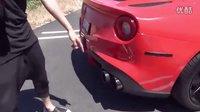 V12 声浪的极致 - 法拉利 F12 改 Fi Exhaust 排气系统!