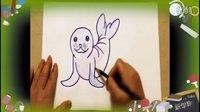 画海狮,儿童画画基础技巧教程,教幼儿画简笔画画教学视频,教少儿学画画入门教程,小孩学绘画涂鸦大全【乐成宝贝】