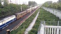 T7787次 兰溪~南通 扬州市扬冶路铁路桥拍车(转载)