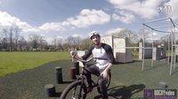 【點到點的精準跳躍】阿里在跑酷公園街頭攀爬Ali Clarkson in Parkour Park Vlog1- ROCKYvideo